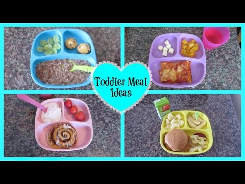 Toddler Meal Ideas 2015