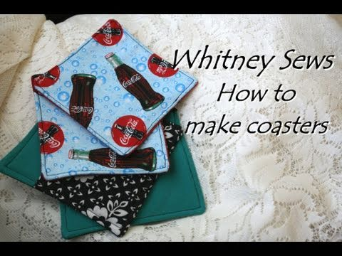 Whitney Sews- Coaster How-To