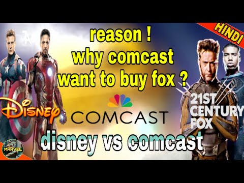 WHY COMCAST WANTS TO BUY FOX ? | DISNEY FOX DEAL  (IN HINDI)