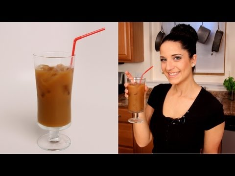 Homemade Iced Coffee - Laura Vitale - Laura in the Kitchen Episode 361