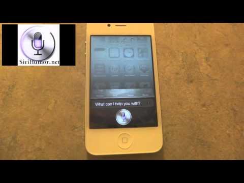 Siri Humor, Ask the iPhone 4S Siri Anything!