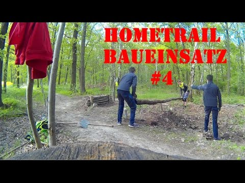 BUILD A NEW TRAIL || Hometrail Baueinsatz #4 || Dustin Kunze