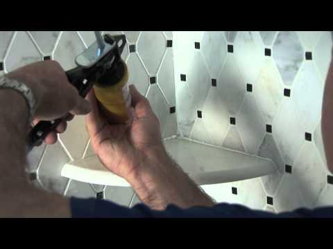 Corner Shower Shelf Installation Video - Shower Tile Ideas For Your Bathroom