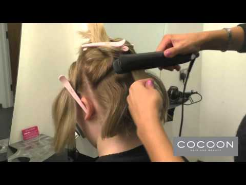 Short Hair Curls with ghd Platinum