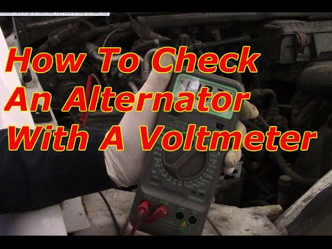 How To Check An Alternator With A Multimeter
