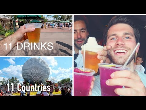 THE ONLY WAY TO DO EPCOT! - DRINK AROUND