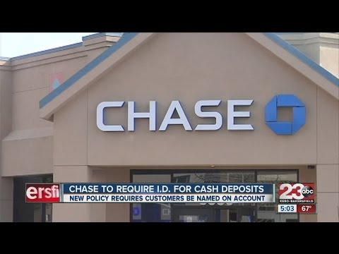 Chase Bank deposits