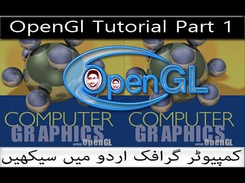 Opengl Using C++ Tutorial in Urdu and Hindi Part 1