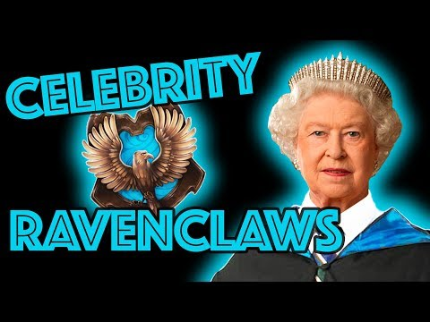 Ravenclaw Celebrities sorted by Pottermore