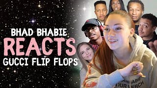 "Danielle Bregoli Reacts To BHAD BHABIE ""Gucci Flip Flops"" Roast and Reaction Vids"