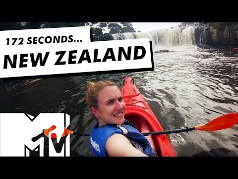 New Zealand's Northland In 172 Seconds | MTV