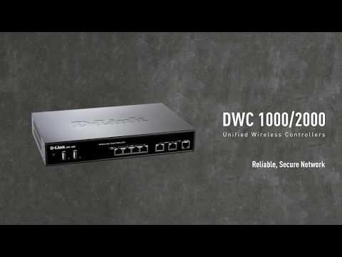 D Link Wireless Controller Controladora WiFiCorporativo DWC1000