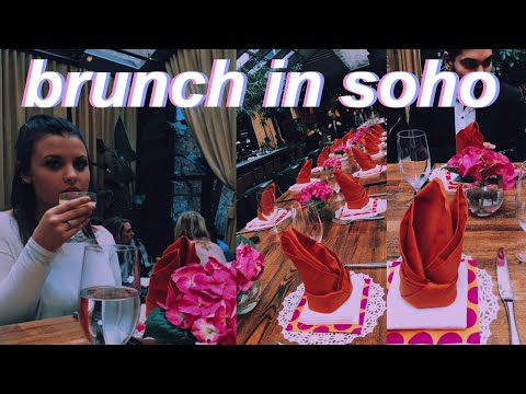 BRUNCH WITH CELEBRITIES AT NOMO IN SOHO | FIT NYC College Vlog