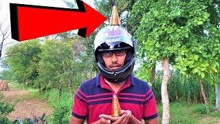 Diwali Anaar VS Helmet | Crazy XYZ