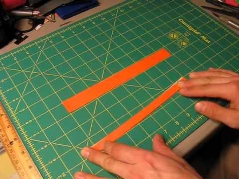 Mini Tutorial - Duct tape Shoelaces