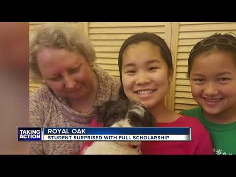 Royal Oak student overcomes odds, is awarded full-ride scholarship to MSU
