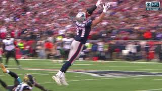 Rob Gronkowski Concussion Hit by Barry Church | Jaguars VS Patriots