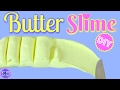 DIY Butter Slime!  How To Make Clay Slime!