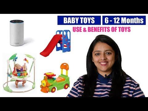बच्चों के लिए खिलोने || BABY TOYS FOR 6-12 MONTHS