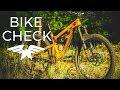 Hightower Bike Check // Broken Santa Cruz Carbon Wheel