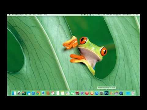 HOW TO DISPLAY YOUR NAME IN THE MENU BAR ON A MAC