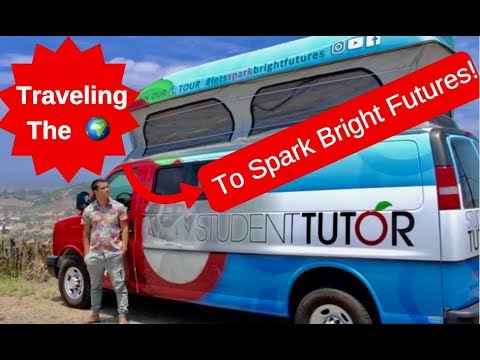 Why We're Traveling Across America To Spark Bright Futures!