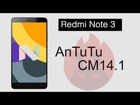 Xiaomi Redmi Note 3 CyanogenMod 14.1 Android Nougat 7.1 AnTuTu Benchmark Test