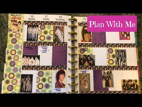 Plan With Me Osmonds Theme Happy Planner