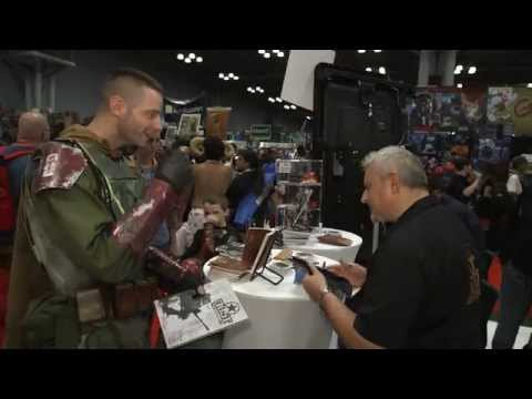 Dust War's Paolo Parente at Comic-Con NYC