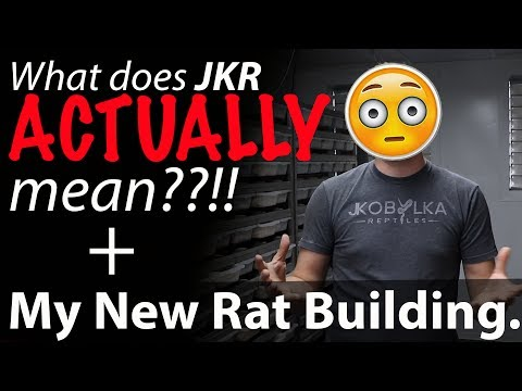 New Rodent Building Tour! + JKR stands for what?!
