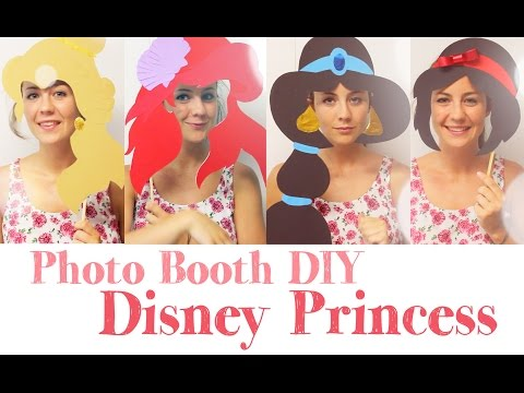 DIY Disney Photo Booth | Belle from beauty and the beast