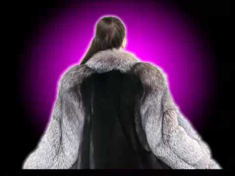 Fox Mink Dark Ranch Fur Stroller Tuxedo - PurpleShoshana
