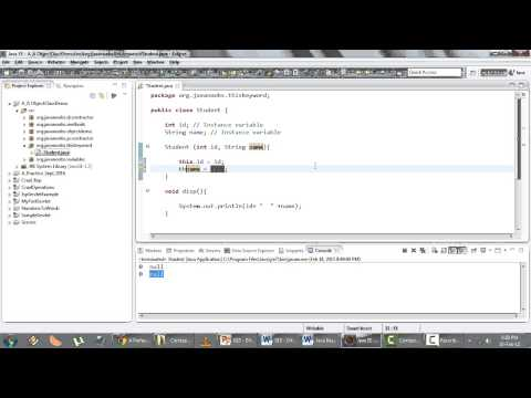 Java Basics Part 1 - Q 18) Difference Between this and super keywords
