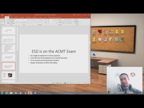 Mac ACMT ESD and Tools Training