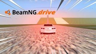 BeamNG drive - CHEVROLET CAMARO DESCENDO A MEGA RAMPA.