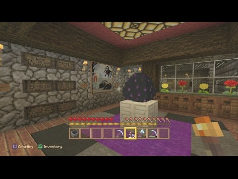 Minecraft PS4 - Ender Dragon Egg Showroom Tour [0098]