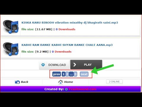 how to add paging code in wapact website paging code kaise add kare