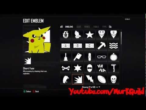 Black Ops 2: Emblem Tutorial #2