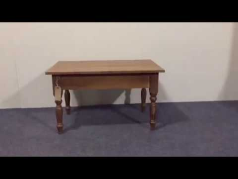 Charming Little Coffee Table/Lamp Table for sale - Pinefinders Old Pine Furniture Warehouse