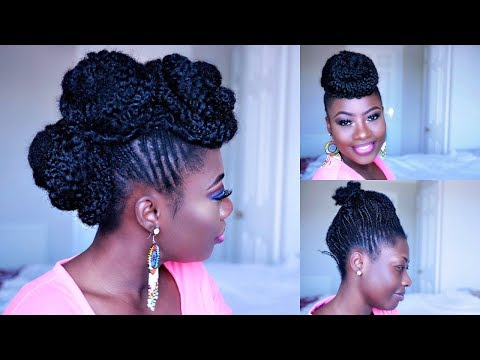 Cornrows Transformation: Protective Style