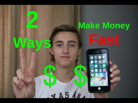 2 Ways To Make Money FAST As A Teenager Using Only Your Phone