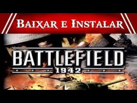 Como Baixar e instalar o Battlefield 1942 online Funcional 2017!!!