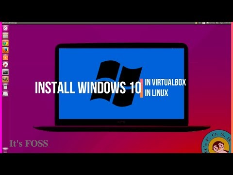 How To Install Windows 10 on Linux in Virtual Box [Step by Step Tutorial for Beginners]