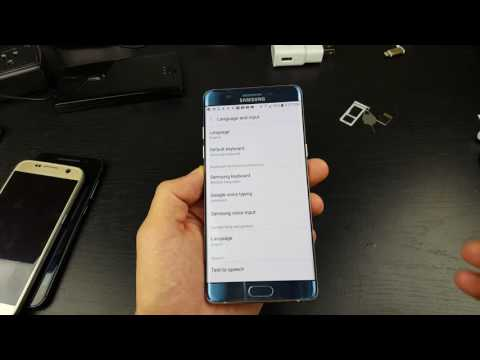Galaxy Note 7: How to Change Language to English from Chinese, Korean, Spanish, etc