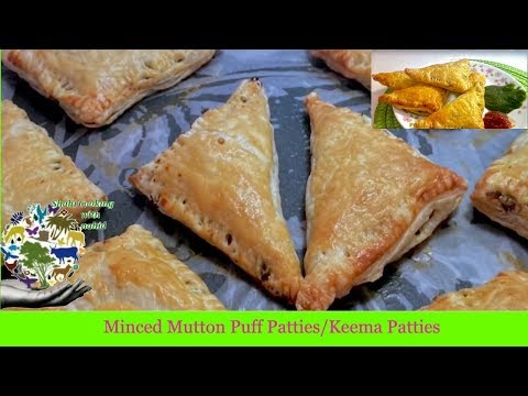 Minced Mutton Puff Patties*How to Make Kheema Patties*Easy to Make*