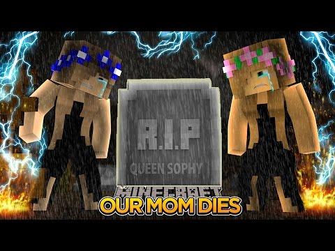 Minecraft - Little Kelly : OUR MOM DIES!