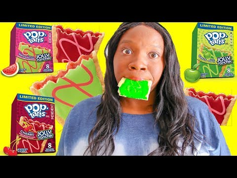 Tasting Jolly Rancher POP TARTS First TIme (Tasty Tuesday Episode 11) Jolly Rancher Pop Tarts