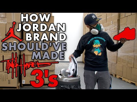 How Jordan Brand Should've Made the Tinker Hatfield 3's
