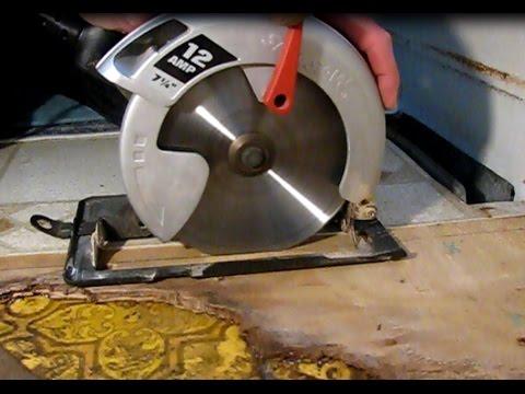 How to repair water damaged flooring