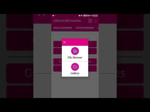 How to convert Wma To Mp3 On Android